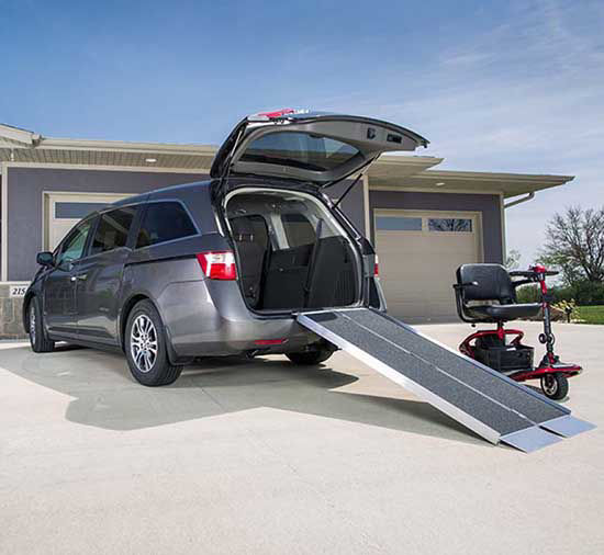 Suitcase Portable Van Ramps