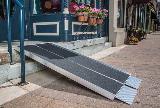 Suitcase Portable Handicap Ramps