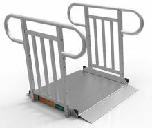 3 Foot Gateway 3G Ramps with Vertical Pickett Handrails