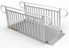 7 Foot Gateway 3G Ramps with Vertical Pickett Handrails