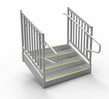 ADA Compliant Aluminum Stairs